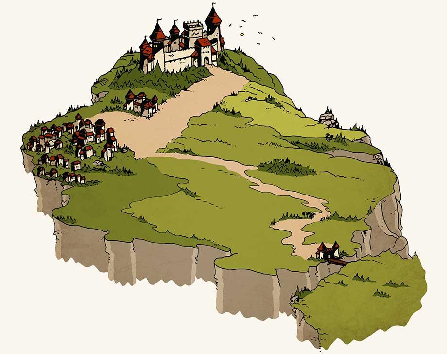 Lungenberg (Online-Comic: Ritter Randolf)