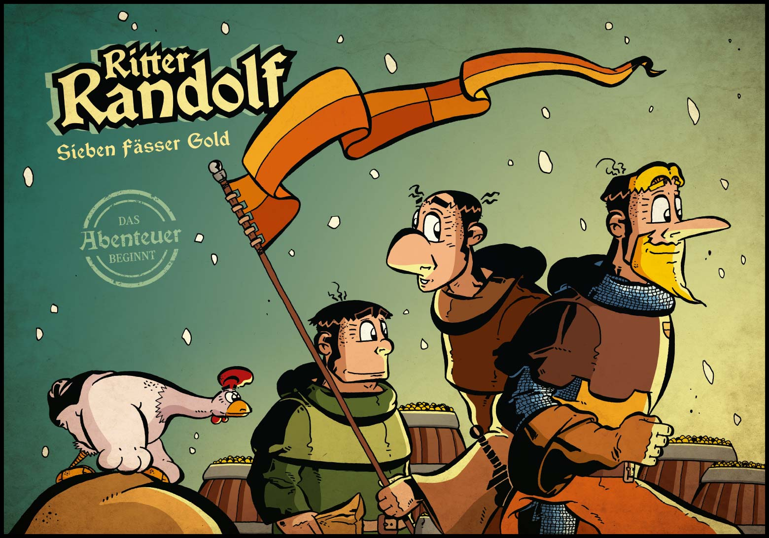 Band 1: Cover (Online-Comic: Ritter Randolf)