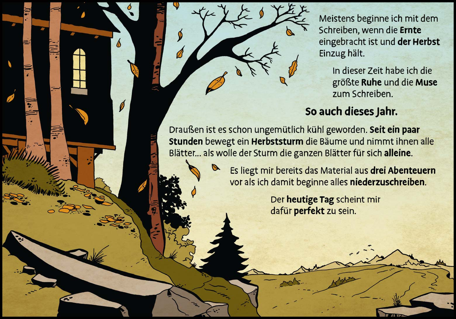 Band 1: Seite 2 (Online-Comic: Ritter Randolf)