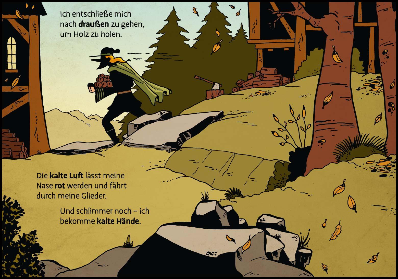 Band 1, Seite 3 (Online-Comic: Ritter Randolf)