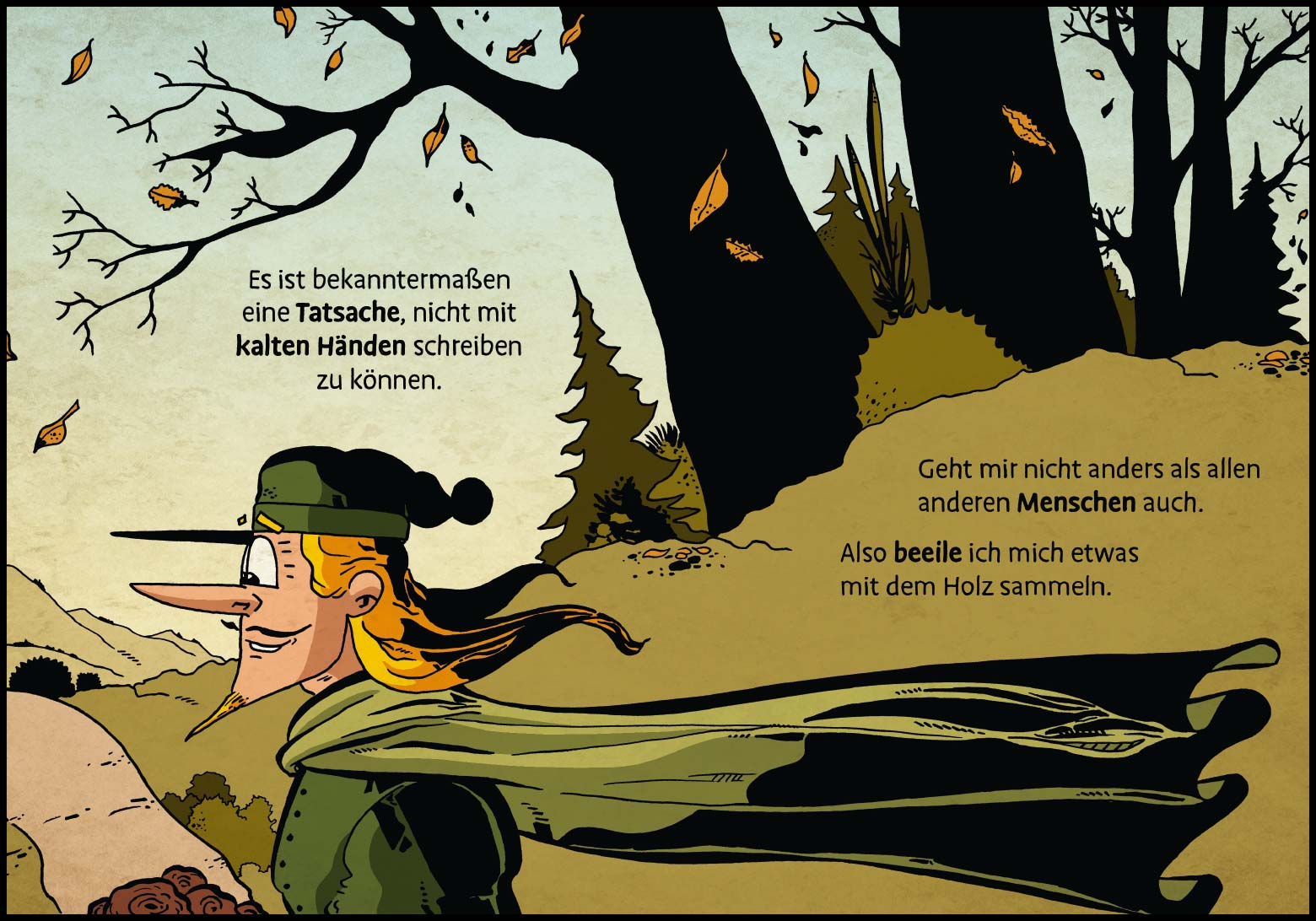 Band 1: Seite 4 (Online-Comic: Ritter Randolf)