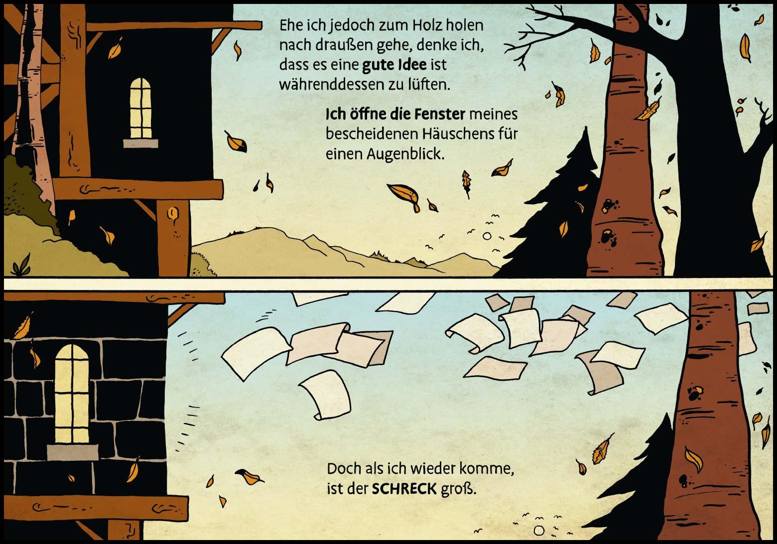 Band 1: Seite 5 (Online-Comic: Ritter Randolf)
