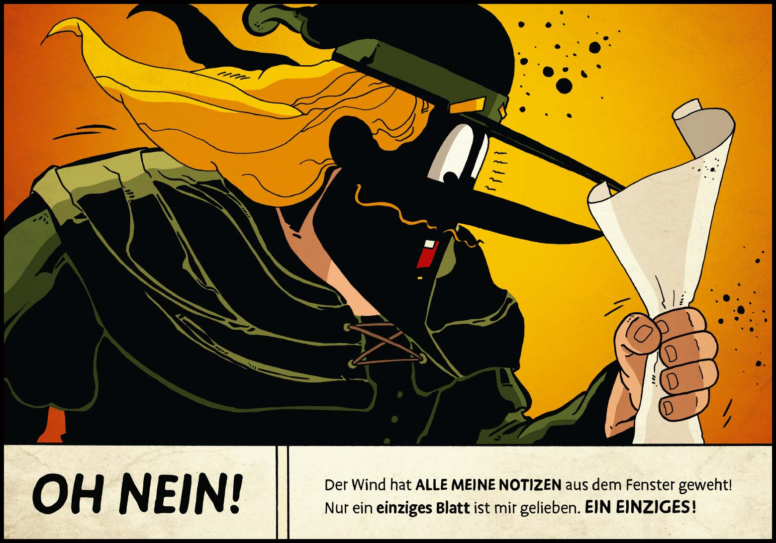 Band 1: Seite 6 (Online-Comic: Ritter Randolf)