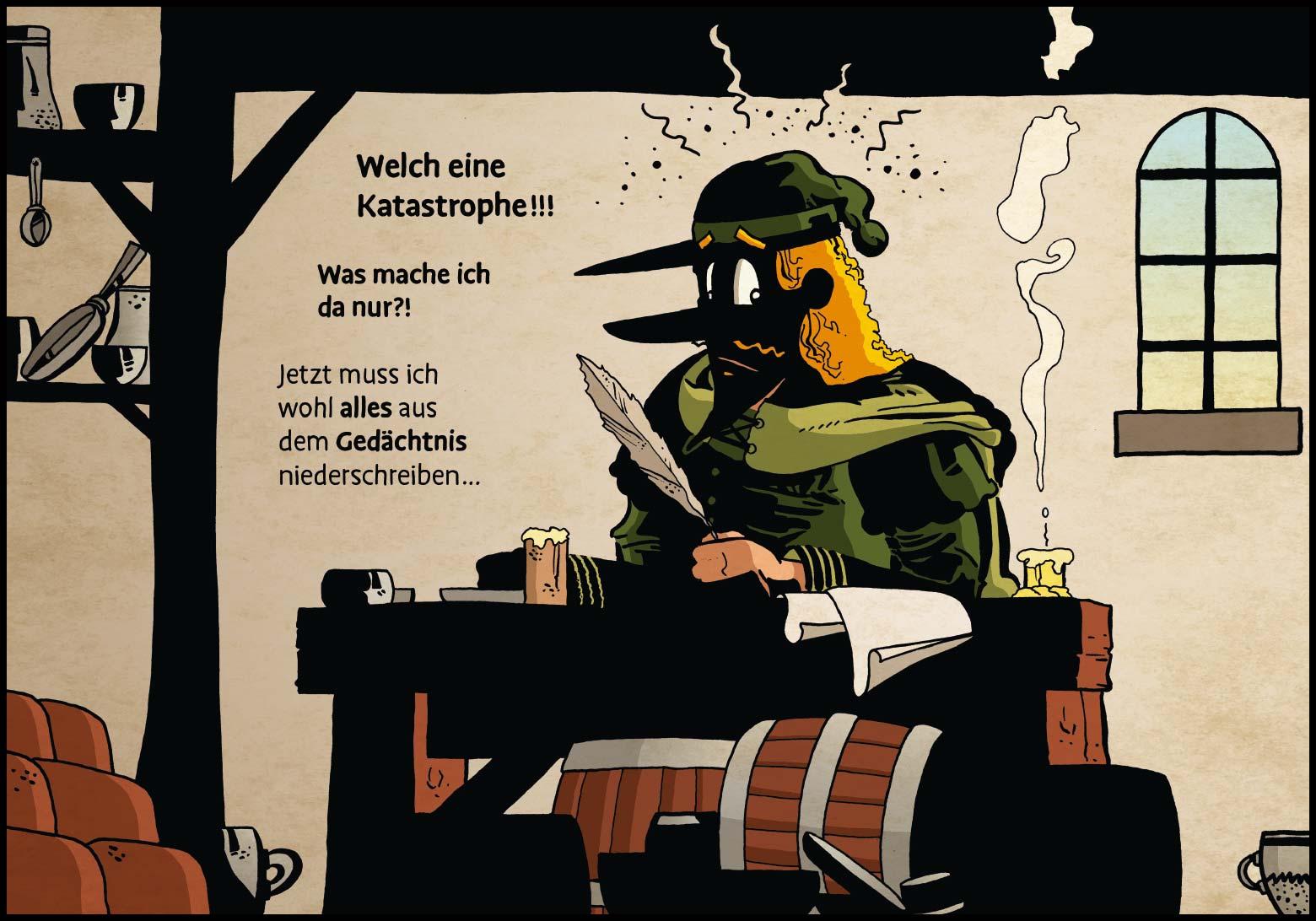 Band 1: Seite 7 (Online-Comic: Ritter Randolf)