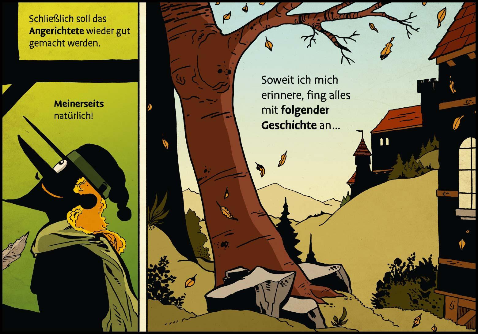 Band 1: Seite 8 (Online-Comic: Ritter Randolf)
