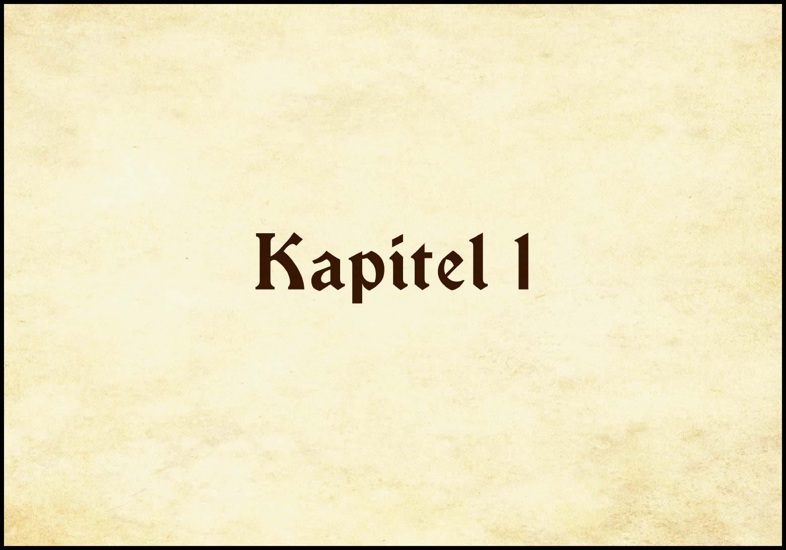 Band 1: Kapitel 1 (Online-Comic: Ritter Randolf)