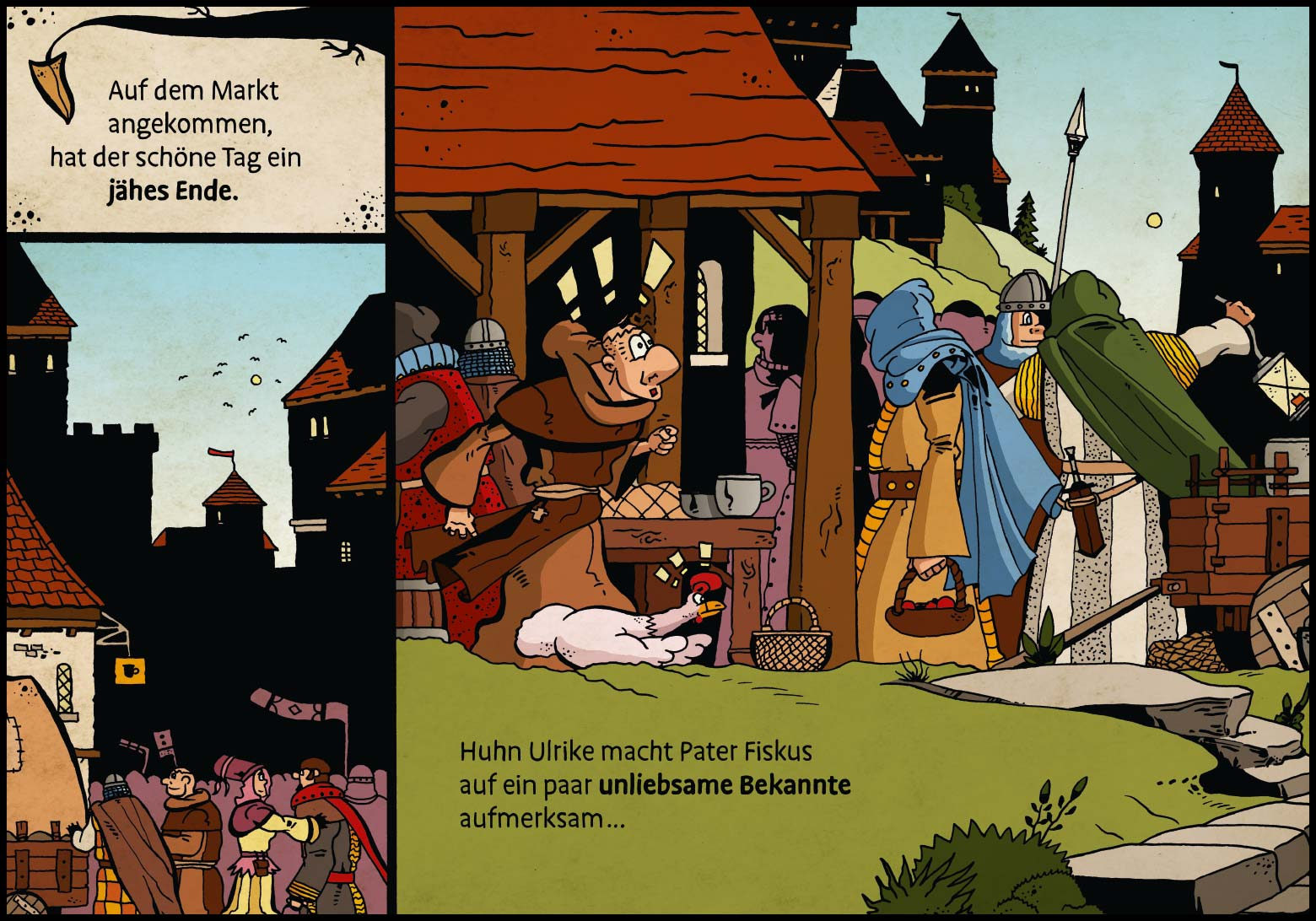 Band 1: Seite 10 (Online-Comic: Ritter Randolf)