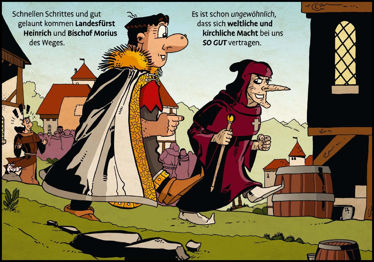 Band 1: Seite 11 (Online-Comic: Ritter Randolf)