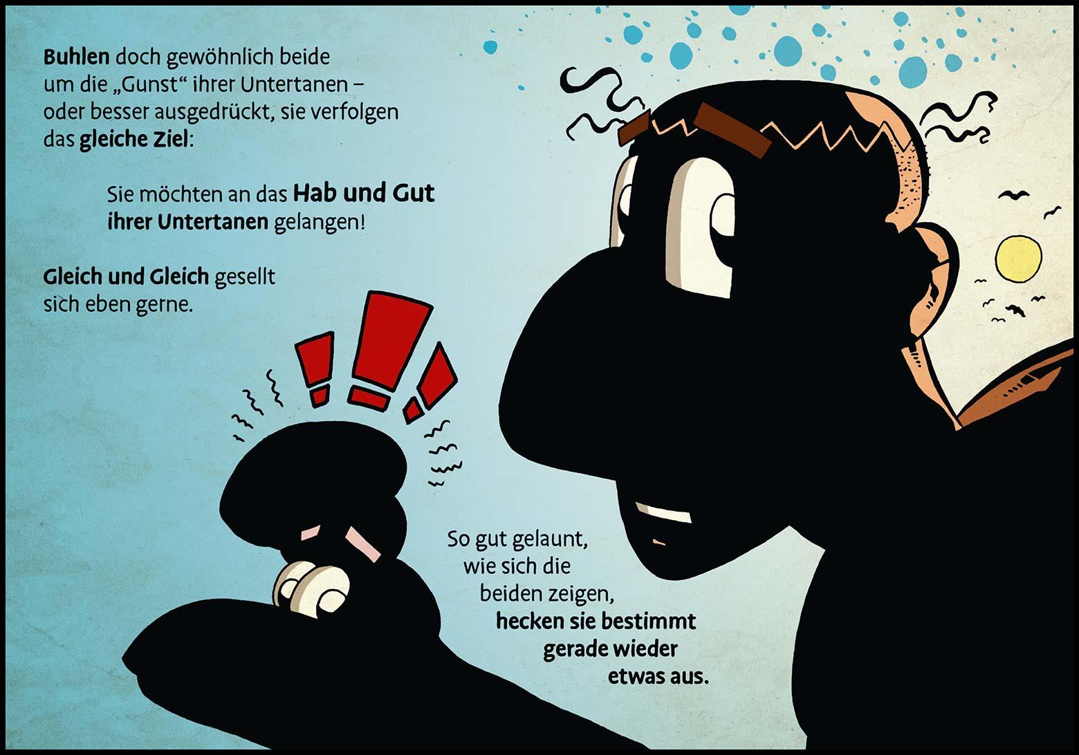 Band 1: Seite 12 (Online-Comic: Ritter Randolf)