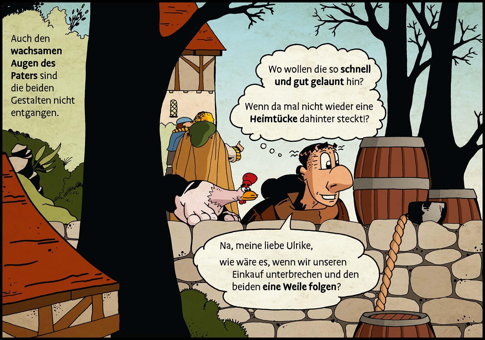 Band 1: Seite 13 (Online-Comic: Ritter Randolf)