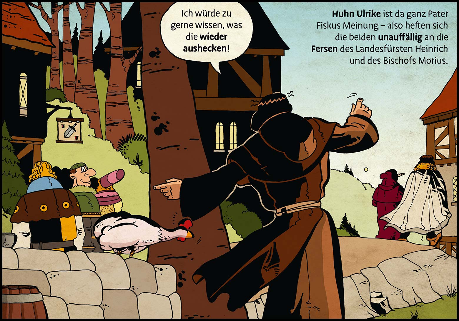 Band 1: Seite 14 (Online-Comic: Ritter Randolf)
