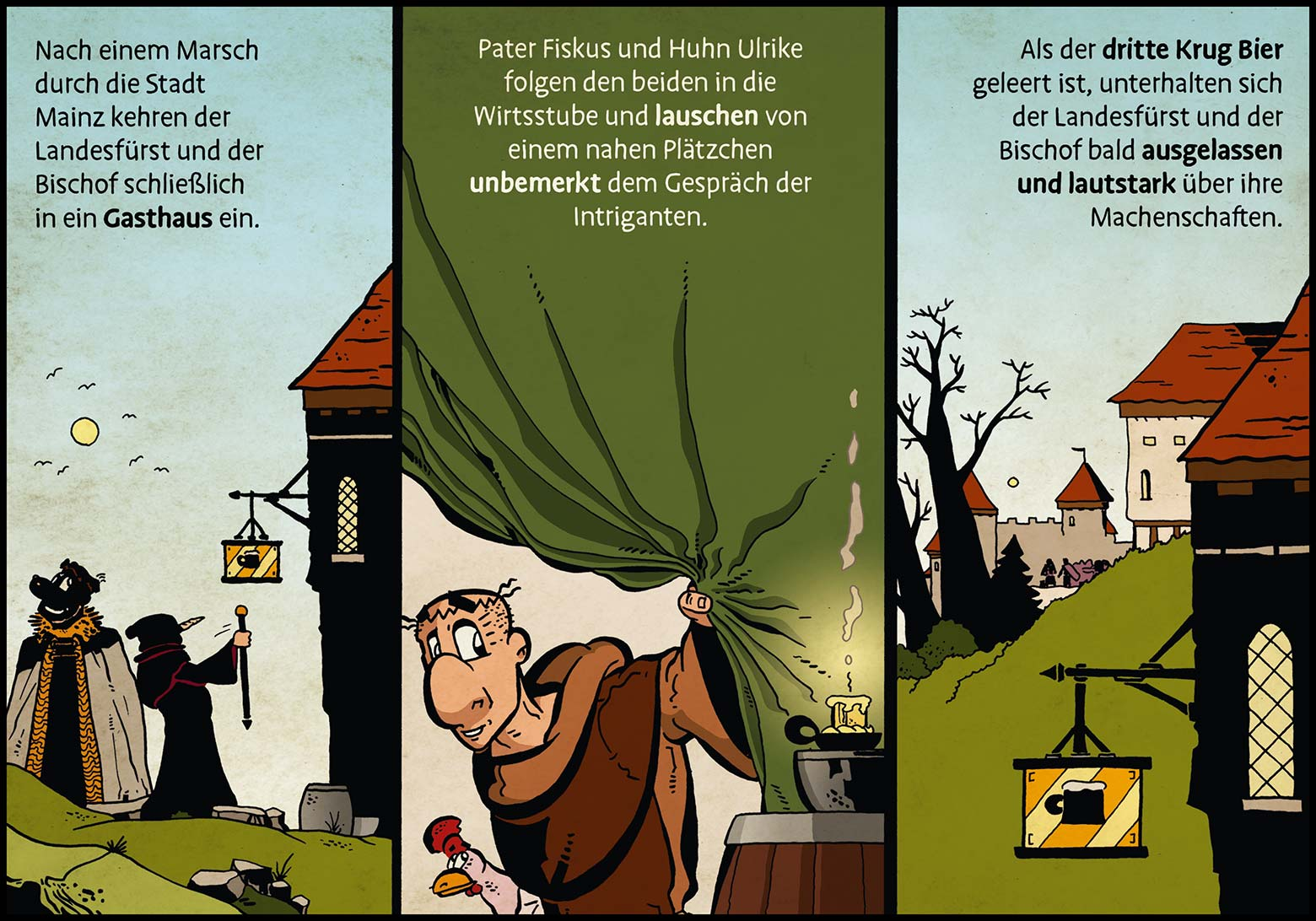 Band 1: Seite 15 (Online-Comic: Ritter Randolf)