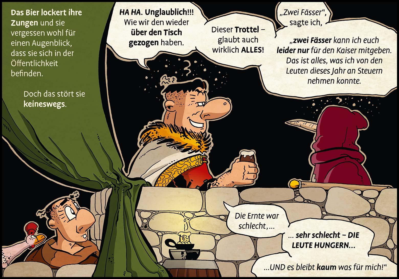 Band 1: Seite 16 (Online-Comic: Ritter Randolf)