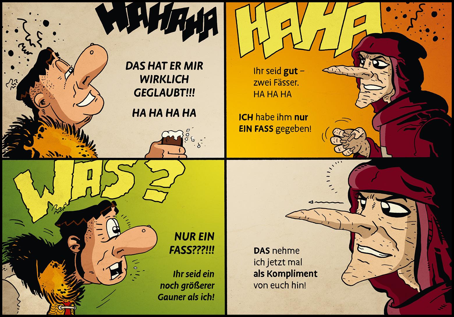 Band 1: Seite 17 (Online-Comic: Ritter Randolf)