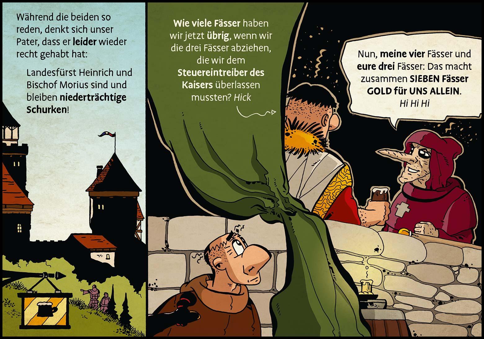 Band 1: Seite 18 (Online-Comic: Ritter Randolf)