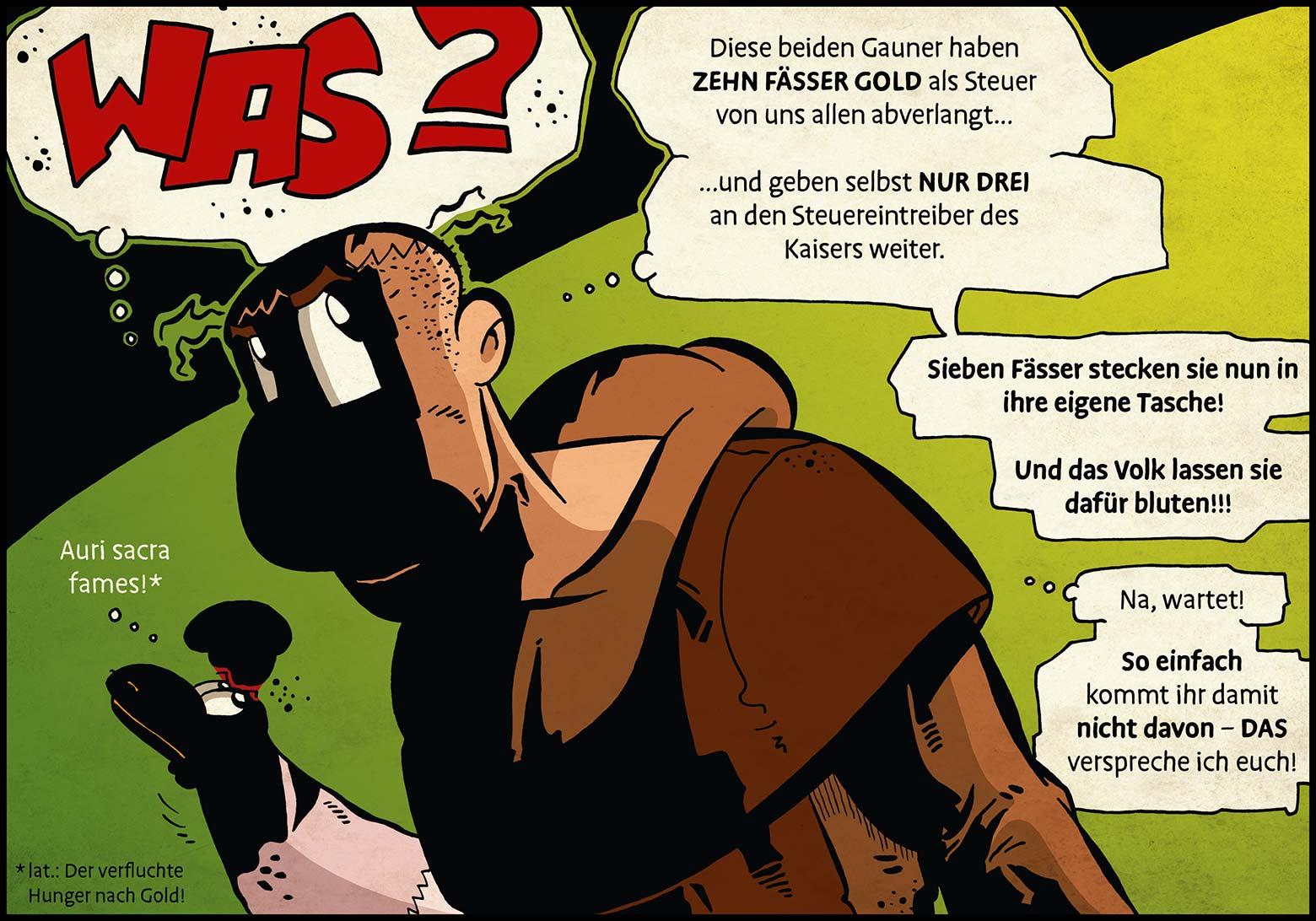 Band 1: Seite 19 (Online-Comic: Ritter Randolf)