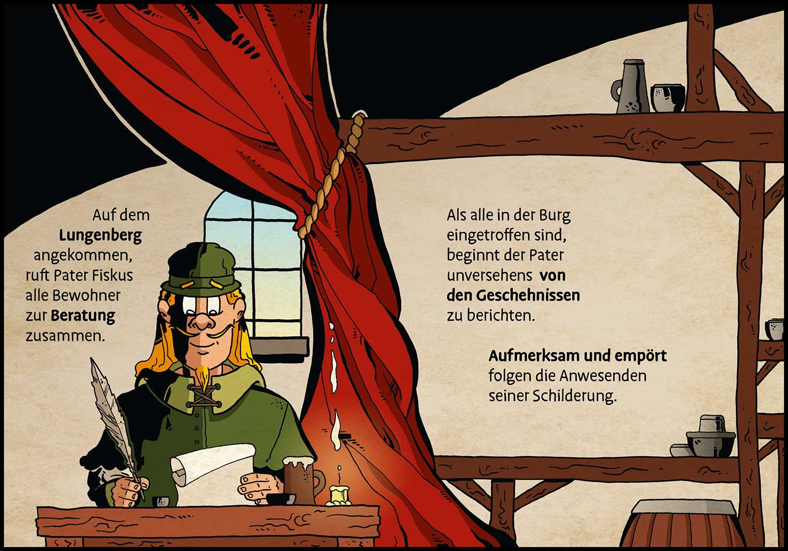 Band 1: Seite 21 (Online-Comic: Ritter Randolf)