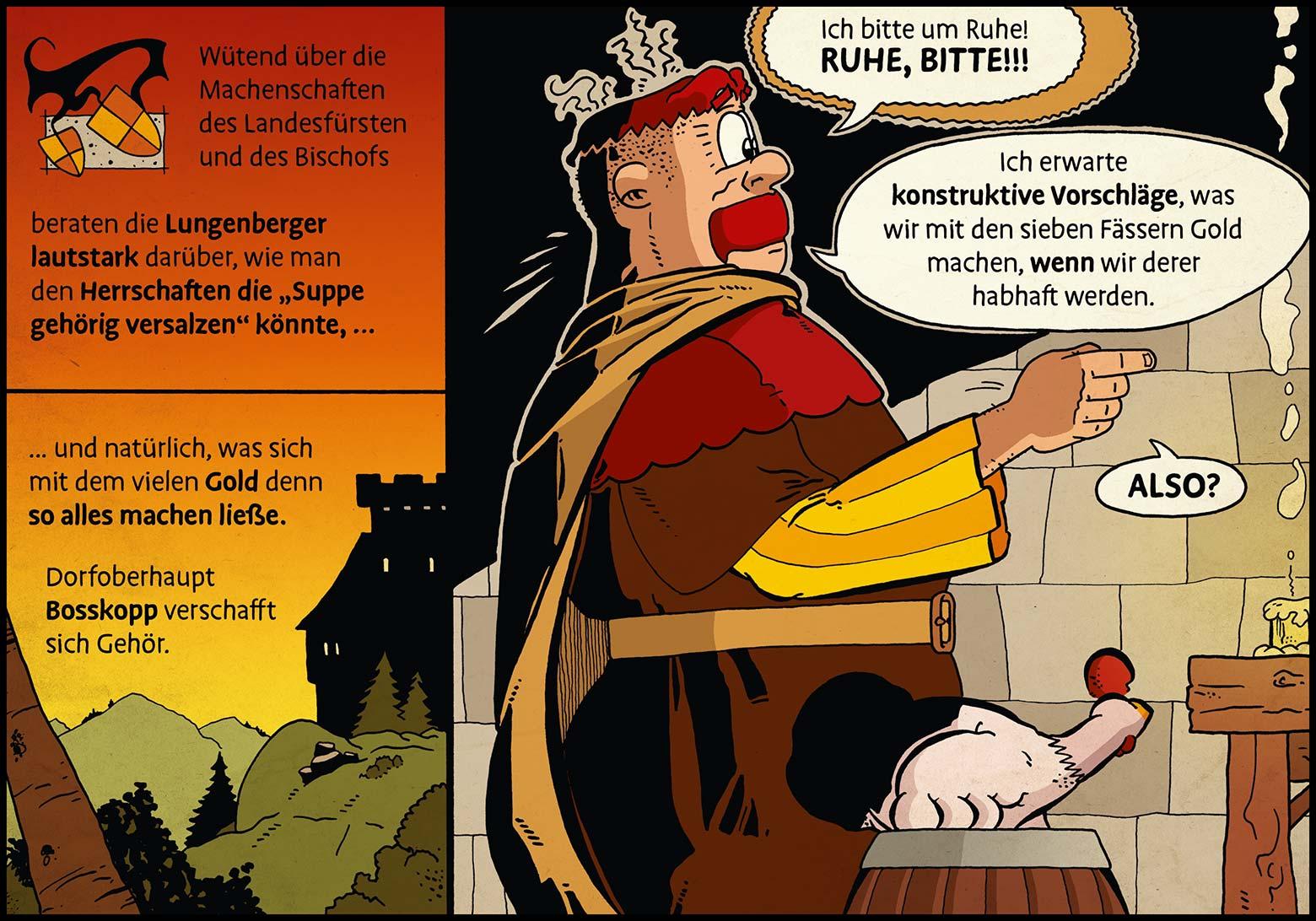 Band 1: Seite 22 (Online-Comic: Ritter Randolf)
