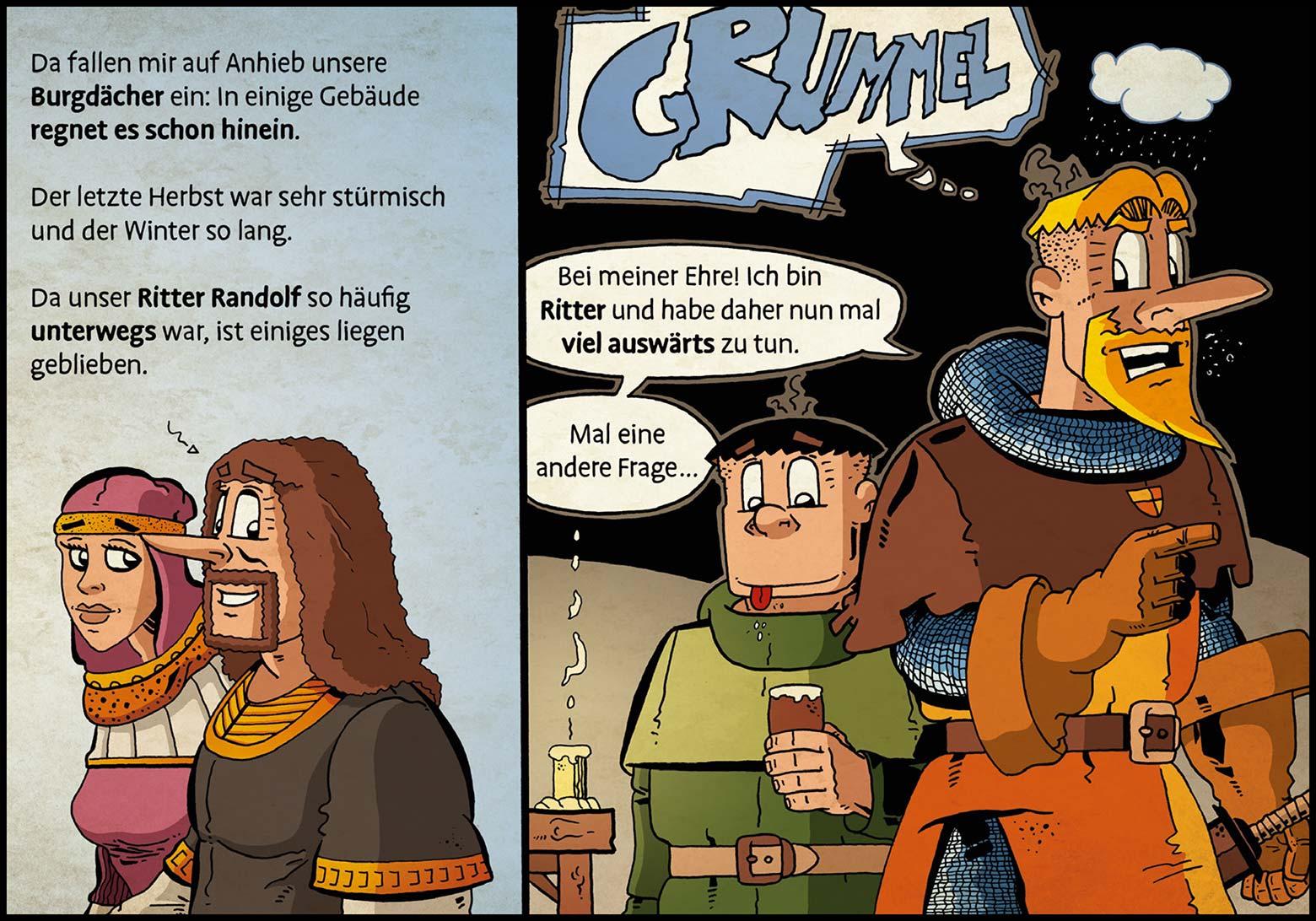 Band 1: Seite 23 (Online-Comic: Ritter Randolf)