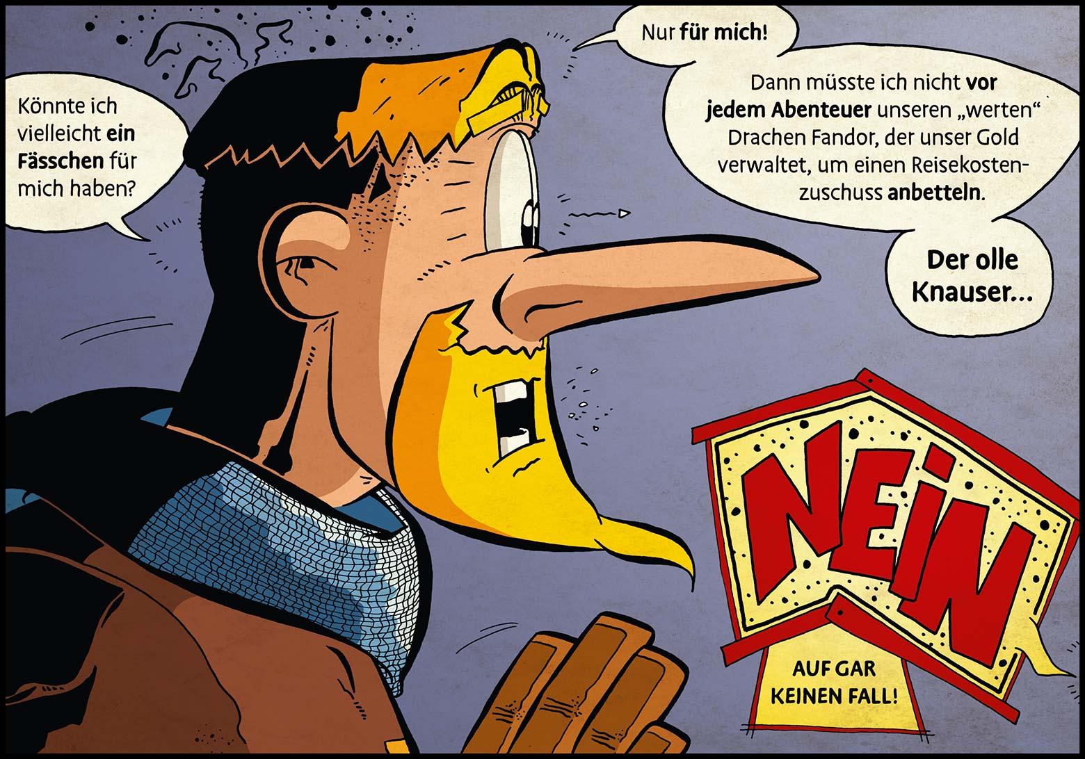 Band 1: Seite 24 (Online-Comic: Ritter Randolf)