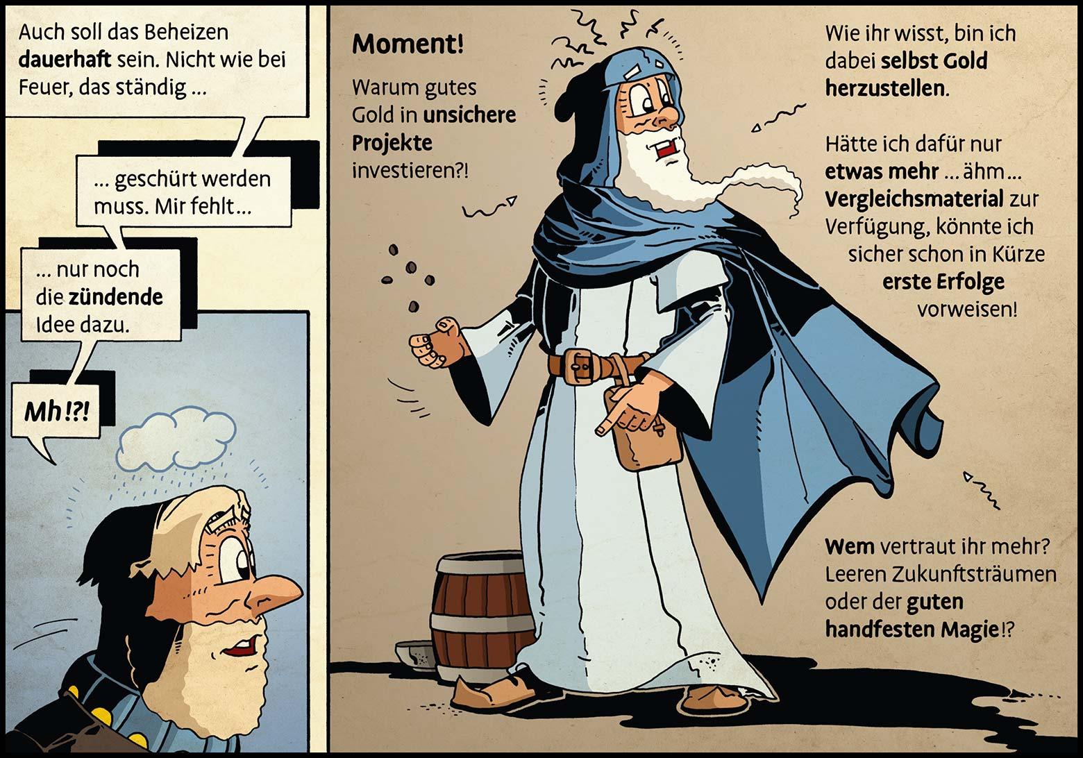 Band 1: Seite 28 (Online-Comic: Ritter Randolf)