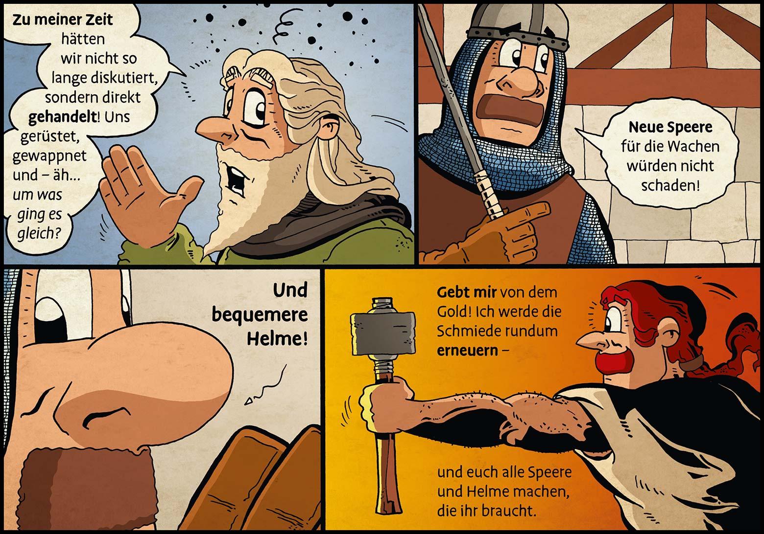 Band 1: Seite 29 (Online-Comic: Ritter Randolf)