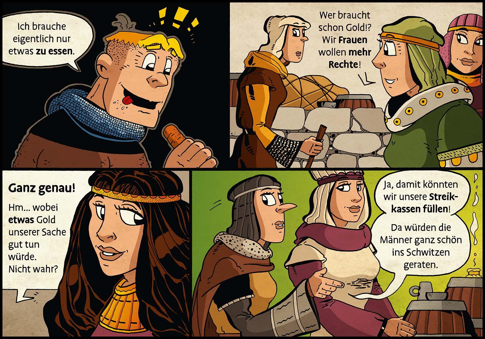 Band 1: Seite 30 (Online-Comic: Ritter Randolf)