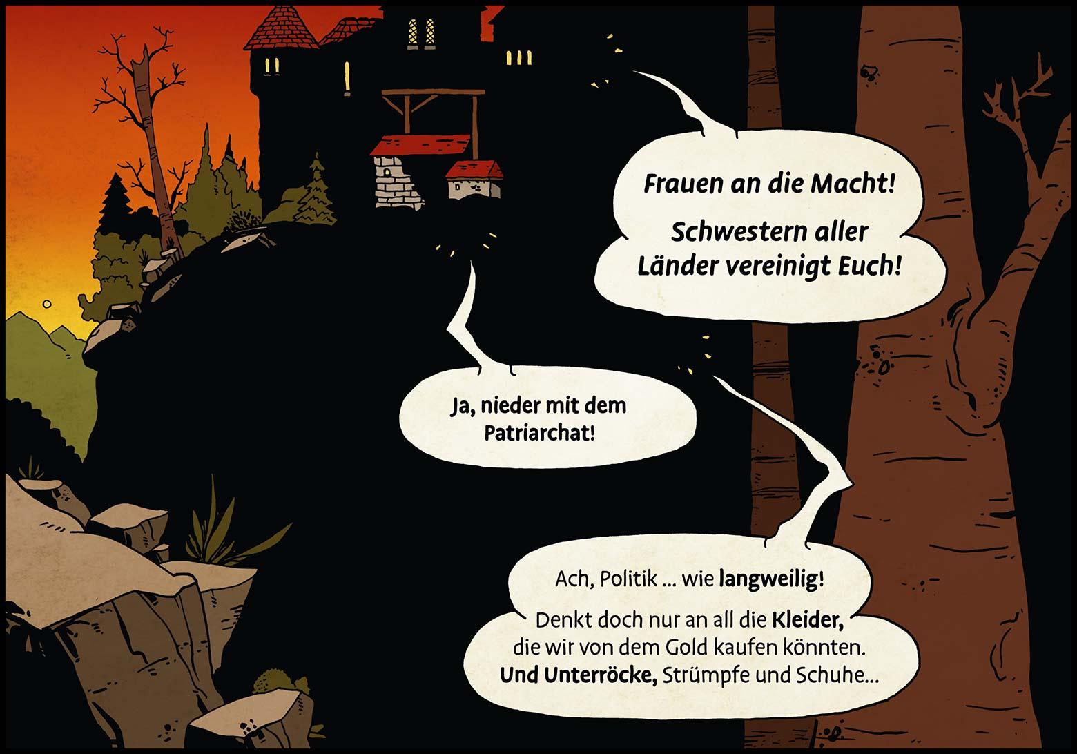 Band 1: Seite 31 (Online-Comic: Ritter Randolf)