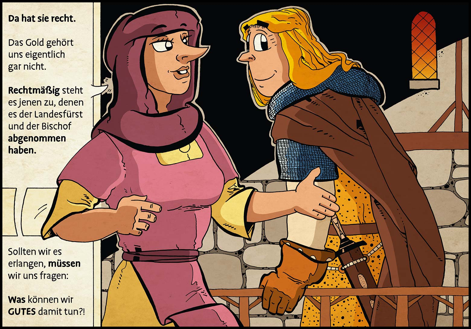 Band 1: Seite 34 (Online-Comic: Ritter Randolf)