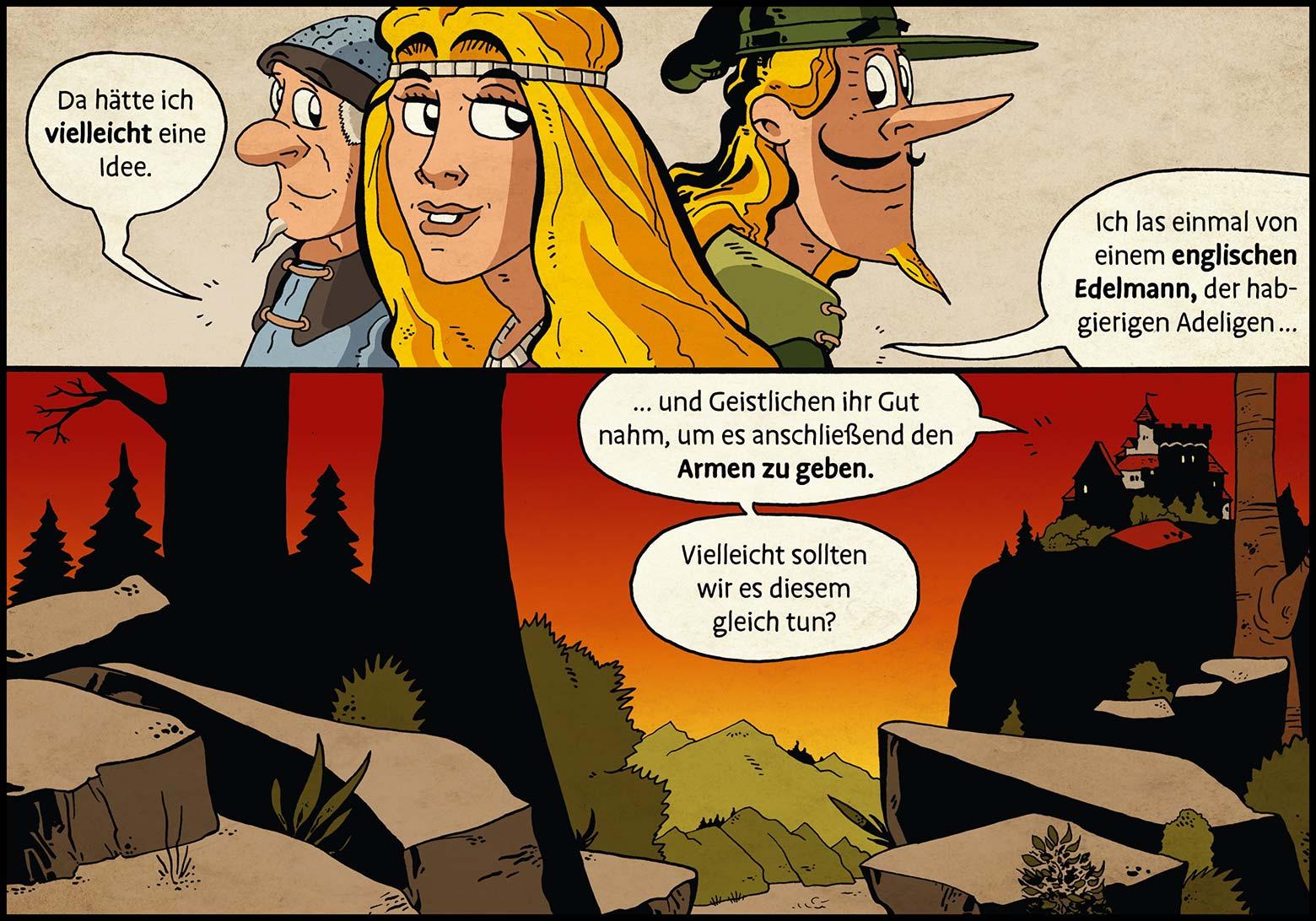 Band 1: Seite 35 (Online-Comic: Ritter Randolf)