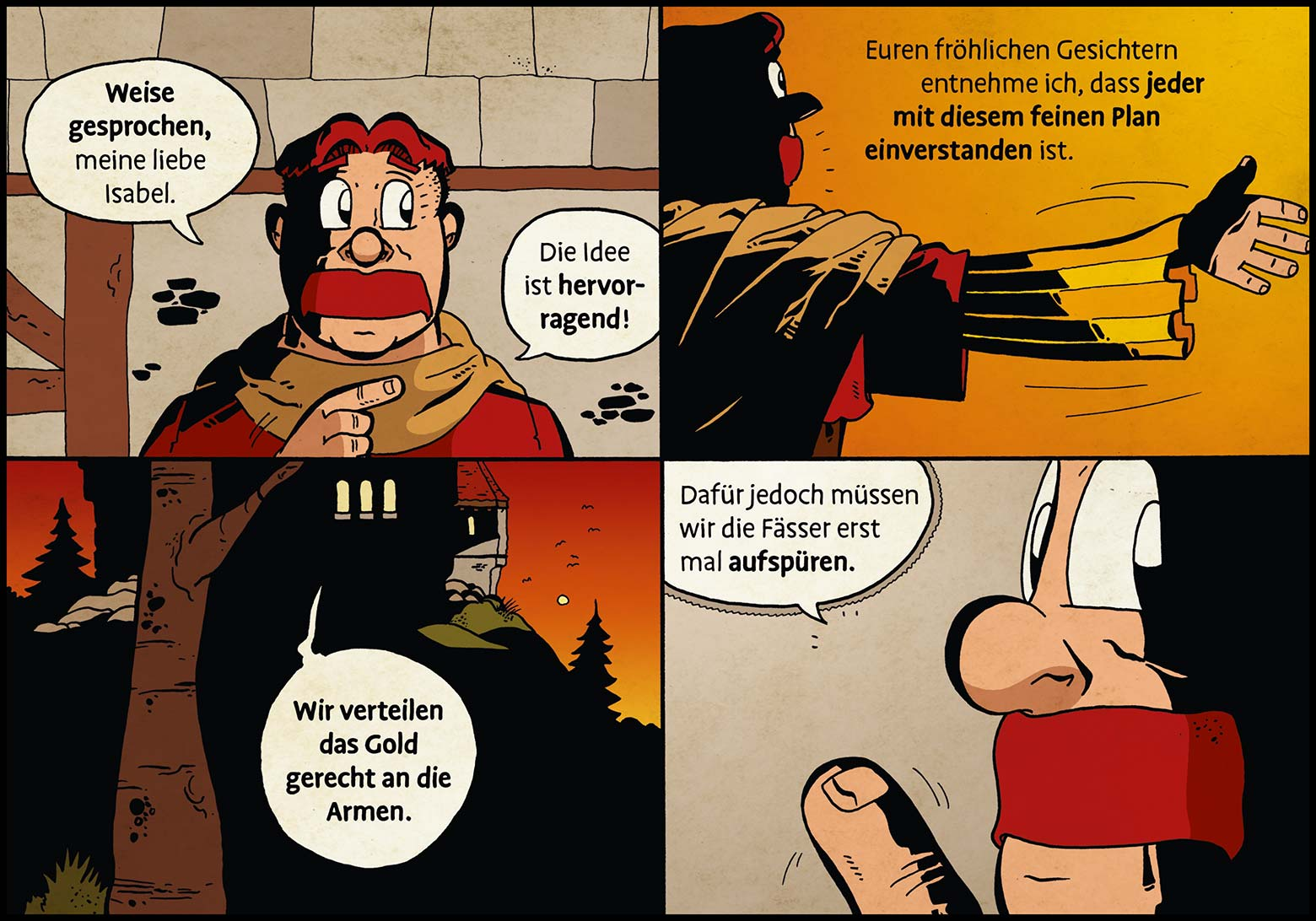 Band 1: Seite 36 (Online-Comic: Ritter Randolf)