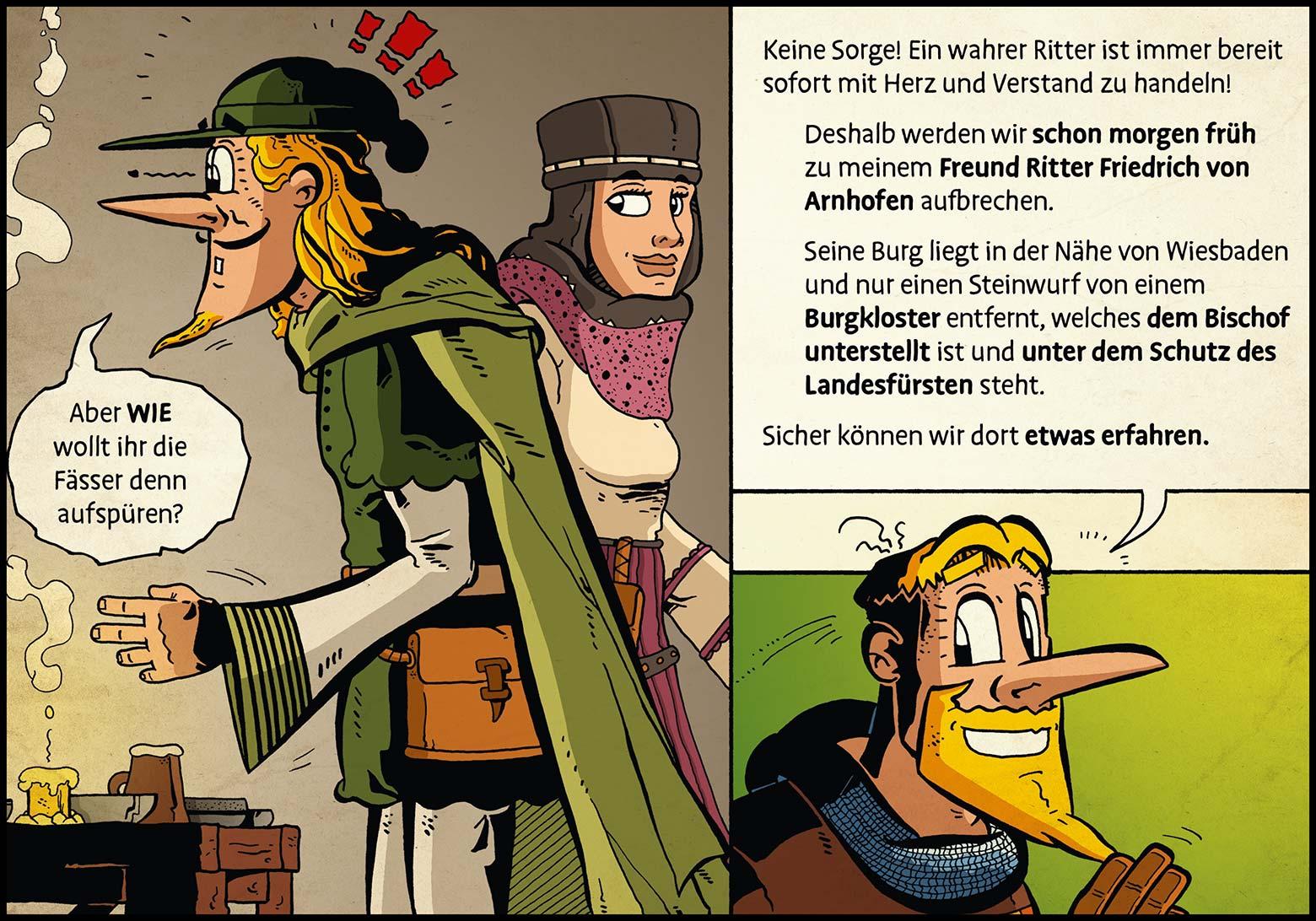 Band 1: Seite 38 (Online-Comic: Ritter Randolf)