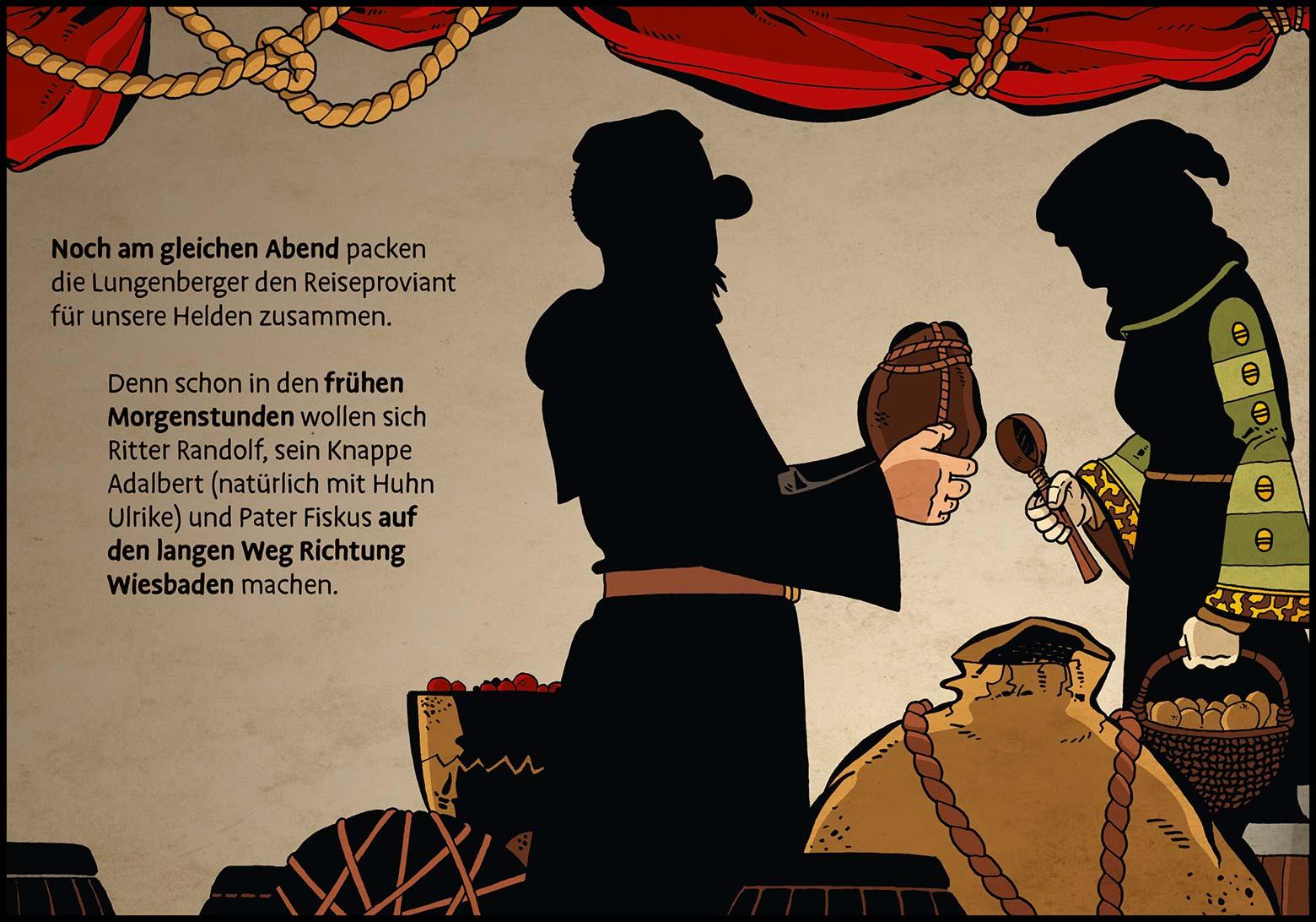 Band 1: Seite 40 (Online-Comic: Ritter Randolf)