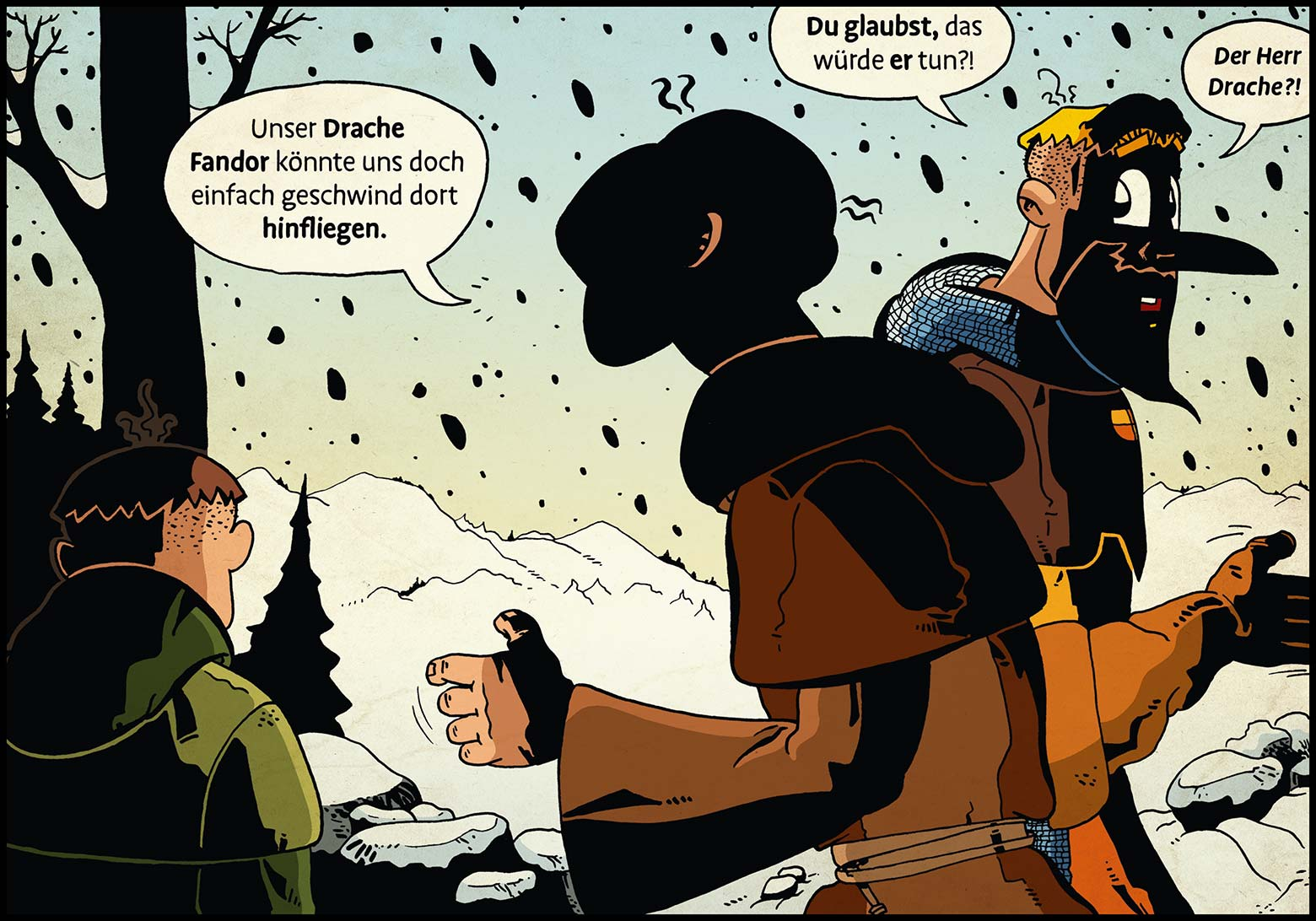 Band 1: Seite 43 (Online-Comic: Ritter Randolf)