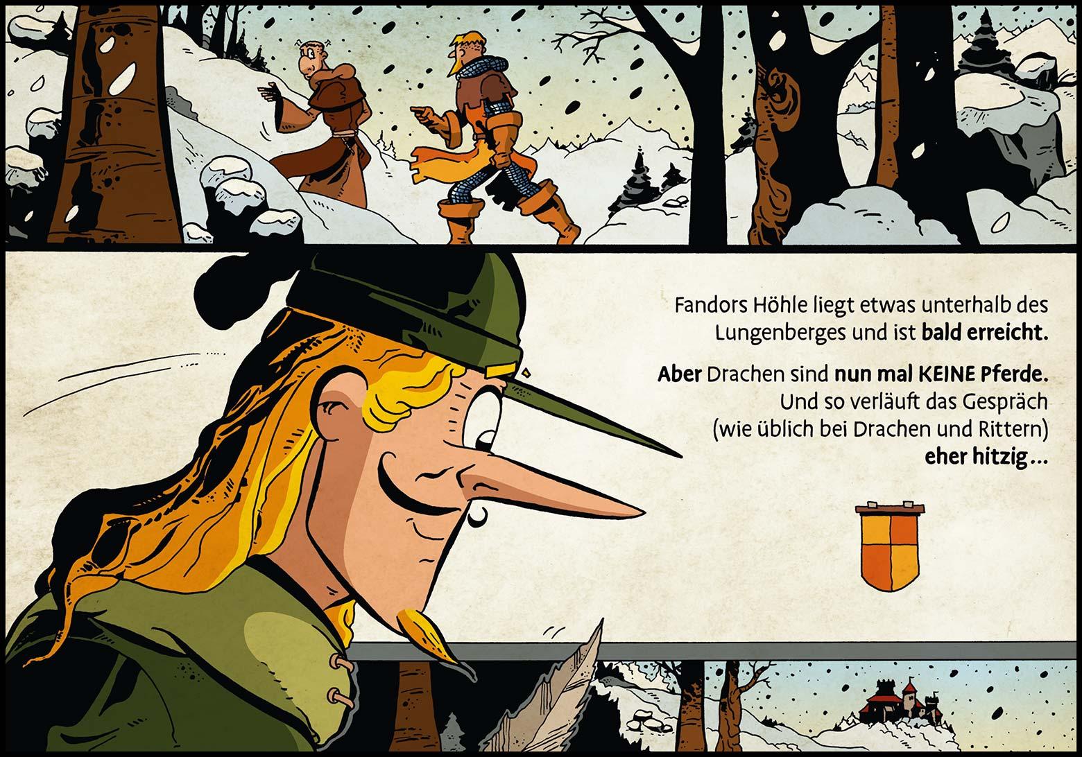 Band 1: Seite 46 (Online-Comic: Ritter Randolf)