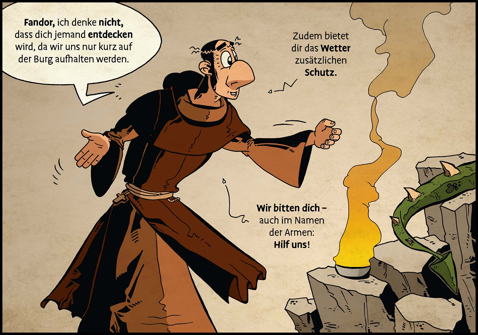 Band 1: Seite 50 (Online-Comic: Ritter Randolf)